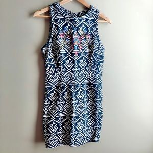 100% Cotton Beaded Embroidered Dress
